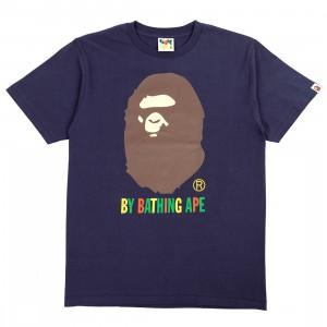 A Bathing Ape Men Colors By Bathing Ape Tee (navy)