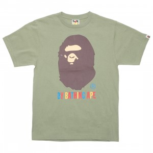A Bathing Ape Men Colors By Bathing Ape Tee (olive / olive drab)
