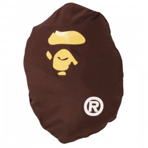 A Bathing Ape Ape Head Packable Backpack (black)