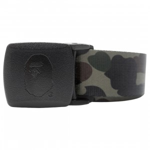 A Bathing Ape 1st Camo GI Belt (green)