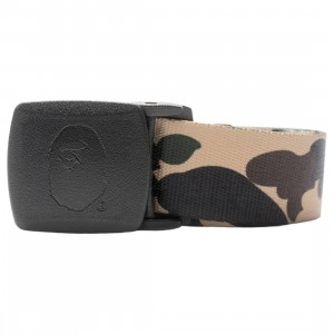 A Bathing Ape 1st Camo GI Belt (yellow)