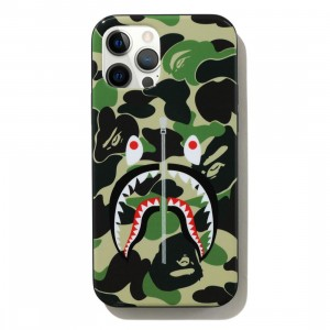 A Bathing Ape ABC Camo Shark iPhone 12 Pro Max Case (green)