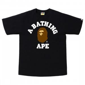 A Bathing Ape Men College Tee (black)