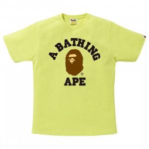 A Bathing Ape Men College Tee (green)