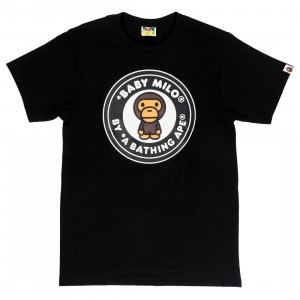 A Bathing Ape Men Milo Busy Works Tee (black)