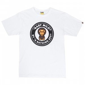 A Bathing Ape Men Milo Busy Works Tee (white)