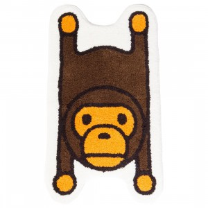 A Bathing Ape Baby Milo Rug Mat (brown)