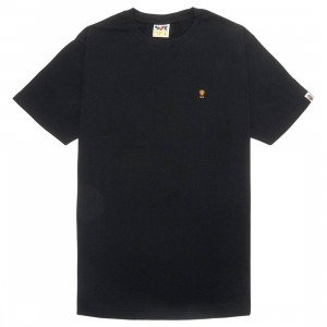 A Bathing Ape Men Baby Milo One Point Tee (black)