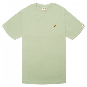 A Bathing Ape Men Baby Milo One Point Tee (olive / olive drab)