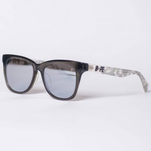 A Bathing Ape BS13039 WT Sunglasses - Snow Edition (white)
