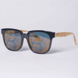 A Bathing Ape BS13073 BG Sunglasses - 2017 New Year Edition (black / gold)
