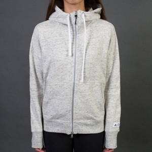Adidas x Reigning Champ Women AARC FTFZ Hoodie (white / heather grey)