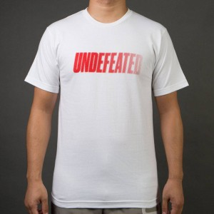 Undefeated Men Speed Tone Tee (white)