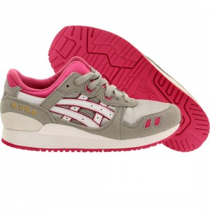 Asics Tiger Big Kids Gel Lyte III GS (gray / light grey / white)