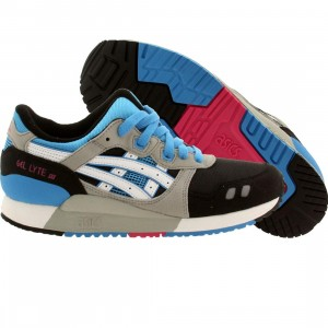 Asics Tiger Big Kids Gel Lyte III GS (black / white)