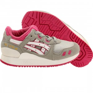 Asics Tiger Little Kids Gel Lyte III PS (gray / light grey / white)