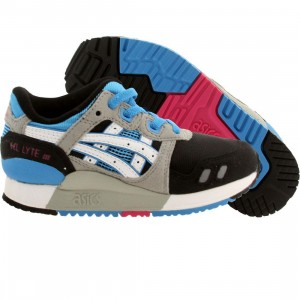 Asics Tiger Little Kids Gel Lyte III PS (black / white)