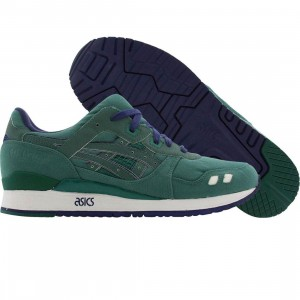 BAIT x Asics Tiger Gel-Lyte III Premium 3M Rings Pack - Green Ring (olive / navy)
