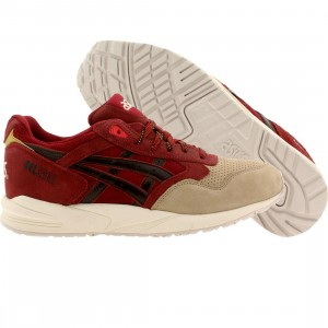 Asics Tiger Men Gel-Saga - Santa Christmas Pack (burgundy / dark brown)