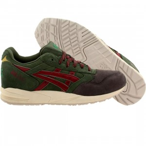 Asics Tiger Men Gel-Saga - Christmas Tree Christmas Pack (green / dark green / burgundy)