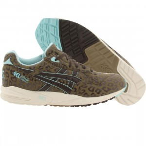 Asics Tiger Men Gel-Saga - Leopard (brown / light brown / dark brown)