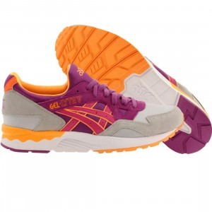 Asics Tiger Men Gel-Lyte V (gray / soft grey / hyacinth violet)