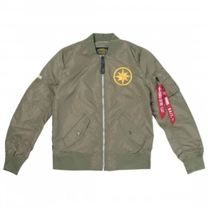 BAIT x Captain Marvel x Alpha Industries Women L2B Scout Jacket (green)