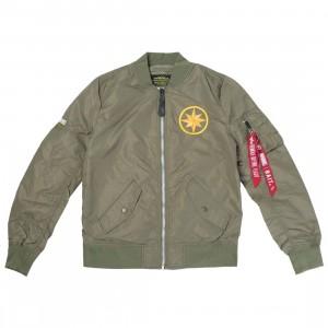 BAIT x Captain Marvel x Alpha Industries Women L2B Scout Jacket (green)