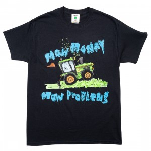 After School Special Men Mow Money Tee (black)