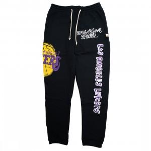 After School Special x NBA Men Lakers Doodle Sweatpants (black)