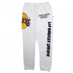 After School Special x NBA Men Lakers Doodle Sweatpants (white)