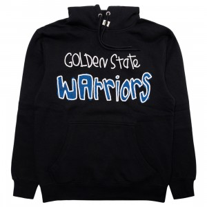 After School Special x NBA Men Warriors Doodle Hoody (black)