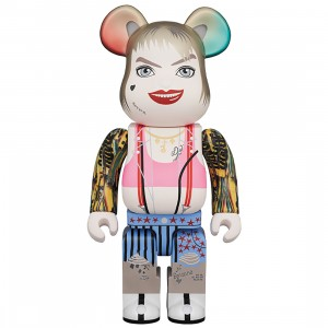 PREORDER - Medicom Birds Of Prey Harley Quinn 400% Bearbrick Figure (white)