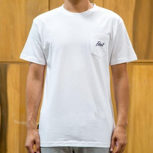 BAIT Men Core Pocket Tee (white)