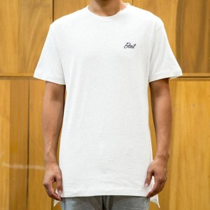 BAIT Men Core Extended Tee (white)