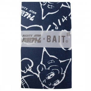 BAIT x Astro Boy Mighty Atom Tenugui Towel (navy)