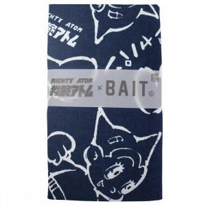BAIT x Astro Boy Mighty Atom Tenugui Towel (navy)