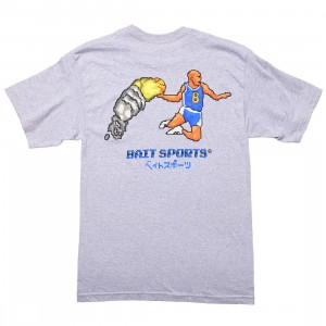 BAIT Men 8 BIT Basketball Tee (gray / heather)