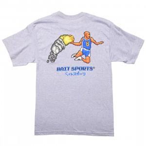 BAIT Men 8 BIT Basketball Tee (gray / heather)