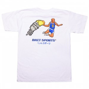 BAIT Men 8 BIT Basketball Tee (white)