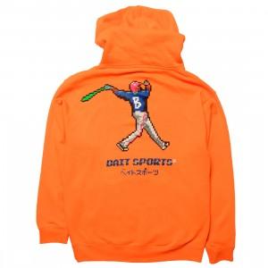 BAIT Men 8 BIT Baseball Hoody (orange / safety)