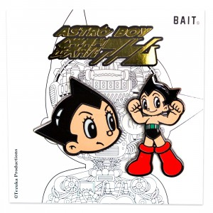 BAIT x Astro Boy Face Logo 2 Pins (multi)