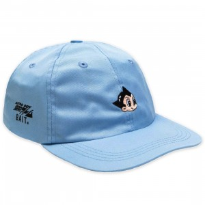 BAIT x Astro Boy Head Dad Cap (light blue)