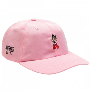 BAIT x Astro Boy Logo Dad Cap (light pink)