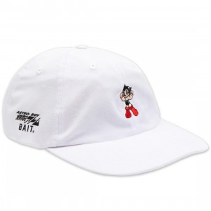 BAIT x Astro Boy Logo Dad Cap (white)