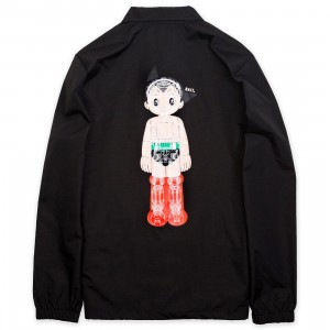 BAIT x Astro Boy Men Mechanics Coaches Jacket (black)
