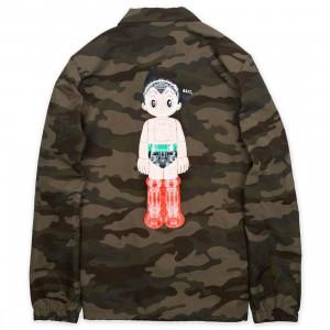 BAIT x Astro Boy Men Mechanics Coaches Jacket (camo)