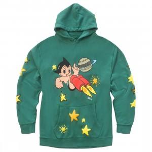 BAIT x Astro Boy Men Stars Puff Print Premium Hoody (green)