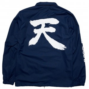 BAIT x Street Fighter Men Akuma Coaches Jacket (navy)