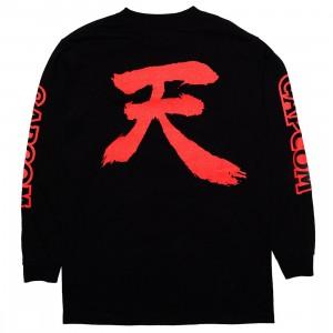 BAIT x Street Fighter Men Akuma Long Sleeve Tee (black)